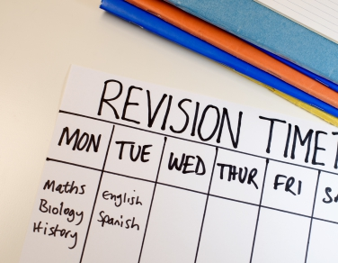 Revision tips for GCSE and A levels