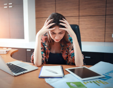 Handling harassment: effects of excessive stress