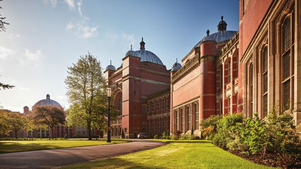 University of Birmingham red-brick buildings